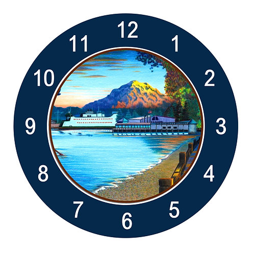 Owen Beach Clock