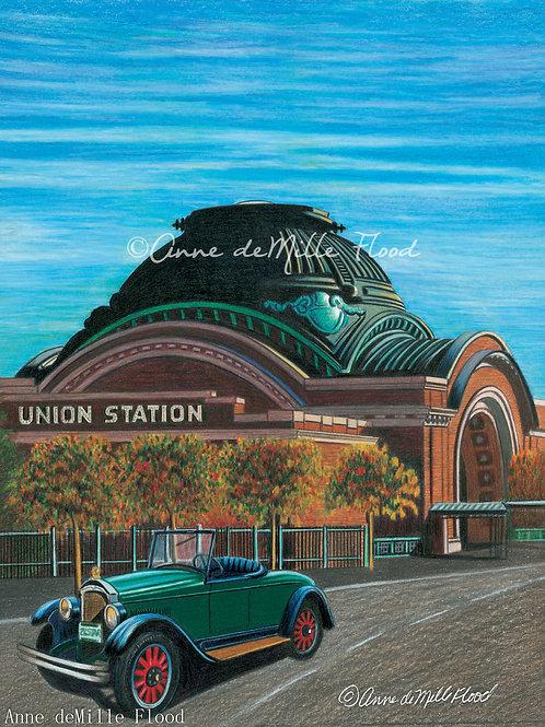 "Union Station 11""x14"" Matted Print"