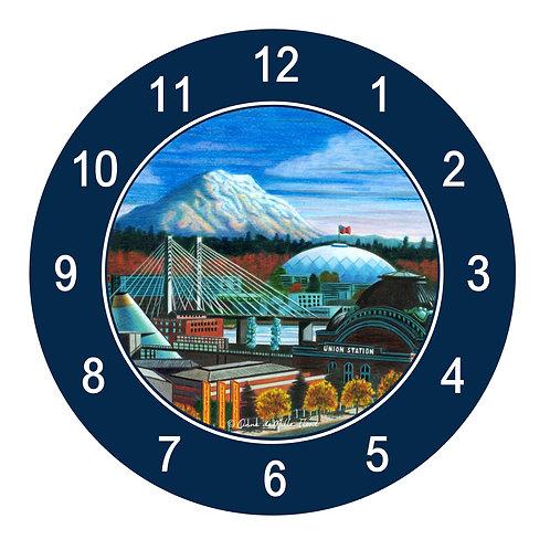 Tacoma Skyline Clock