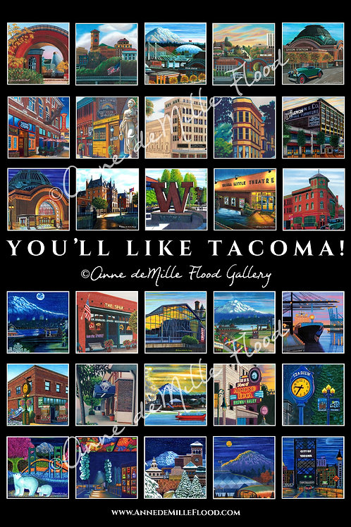You'll Like Tacoma! Poster