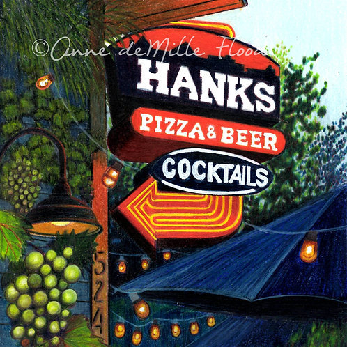 "Hank's 11""x14"" Matted Print"