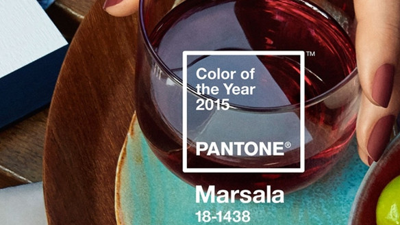 A cor do ano 2015 - Marsala