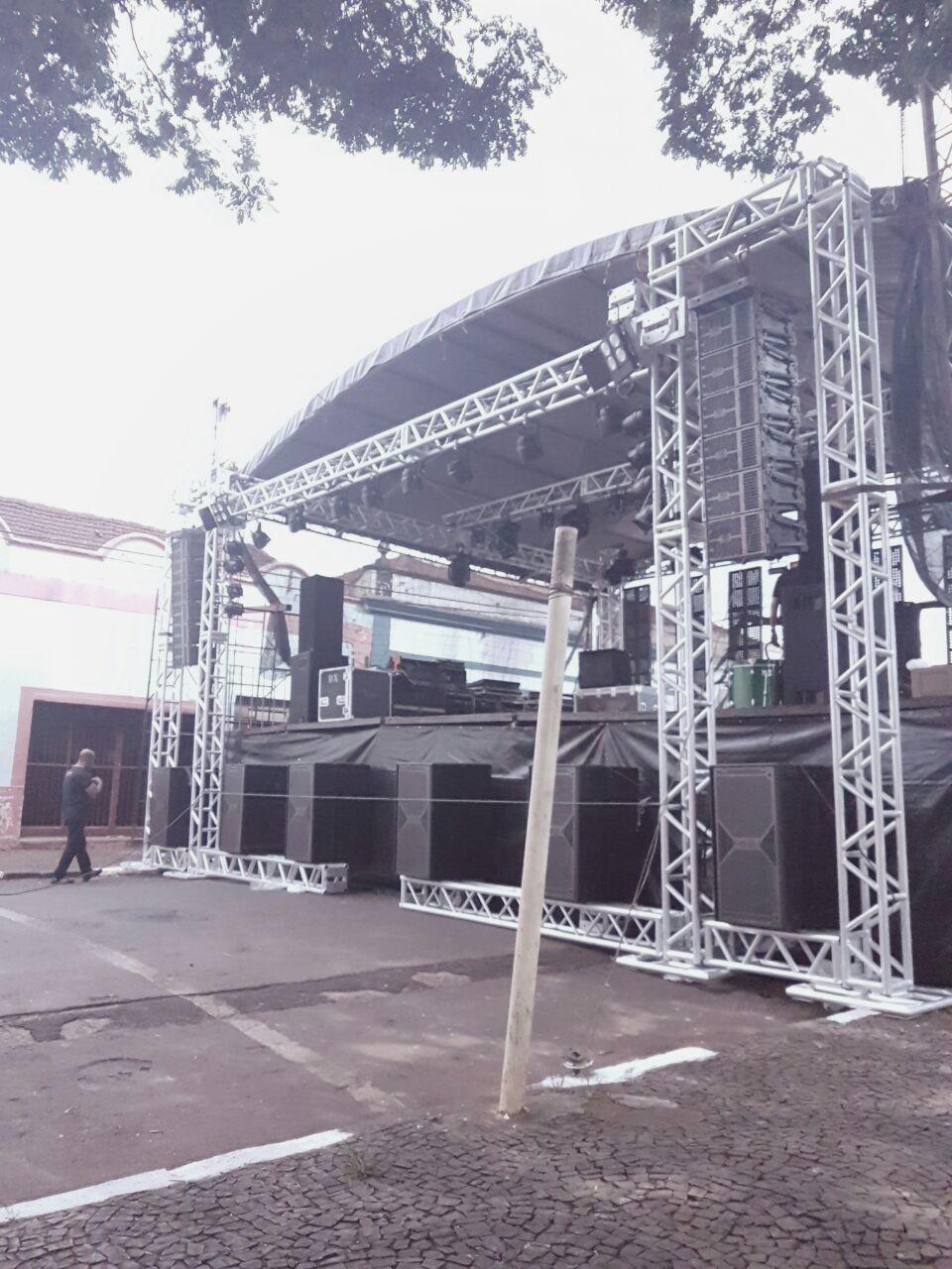 Estruturas de shows