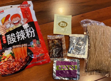 Spicy and Sour Noodles