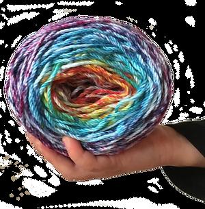 Hand dyed cotton yarn Australia