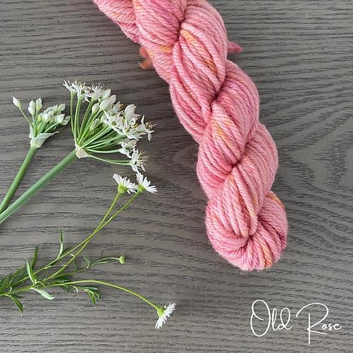 OLD ROSE White Gum Wool 100g
