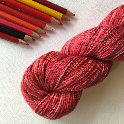 ROSES ARE... 8ply Cotton 100g