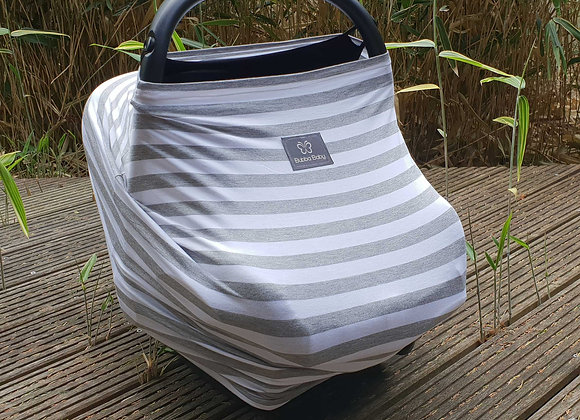 Medium Grey Stripes