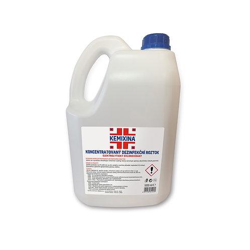 Koncentrovaný dezinfekční roztok 5000 ml