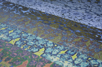 Digitally printed luxury wallpaper by Rock Stone Silk