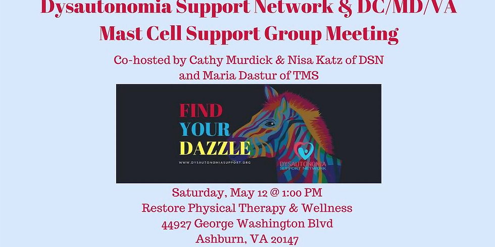 VA DSN & DC/MD/VA Mast Cell Support Group Meeting (1)