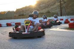 Carrera de kart