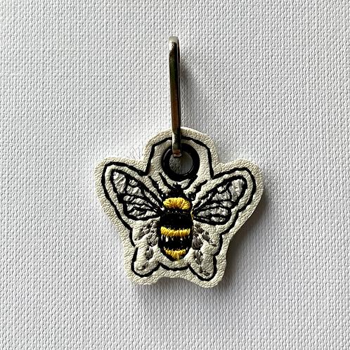Bee Zip Pull
