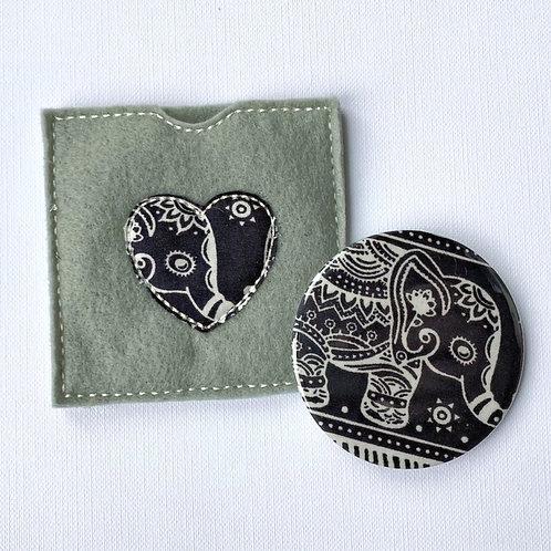 Pocket Mirror, Elephant