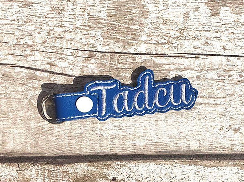 Tadcu Faux Leather Key Fob