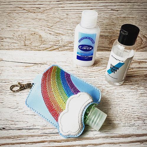 Rainbow Hand Sanitiser Gel Case