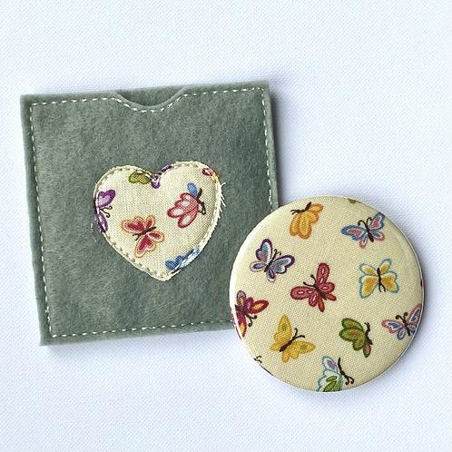 Pocket Mirror, Butterflies