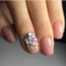 Дизайн ногтей стразами.JPG