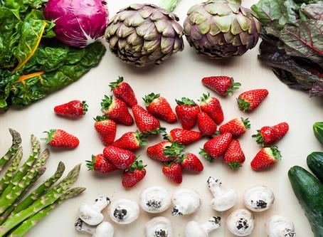 Τα 5 πιο νόστιμα φρούτα και λαχανικά της άνοιξης.
