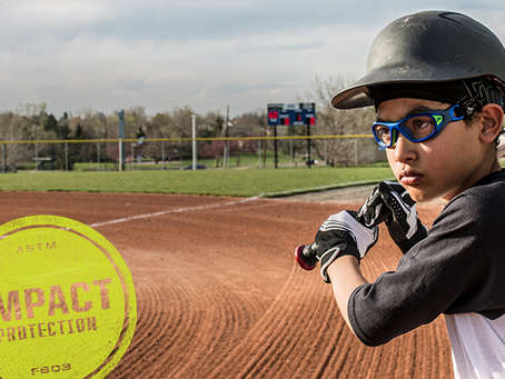 September is Sports Eye Safety Awareness Month