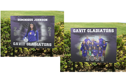 Specialty: Double-sided yard sign