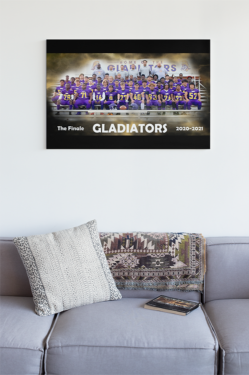 "The Finale: Gavit Team Banner: 18""x36"""