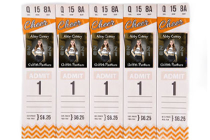 Specialty: Game Day Tickets (set of 5)