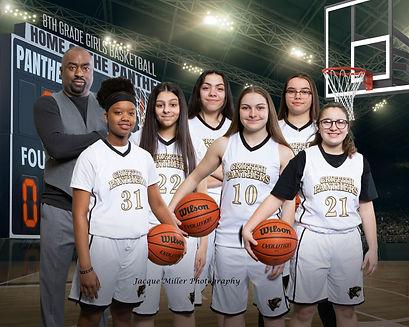 8th grade girls basketball team_16x20.jp