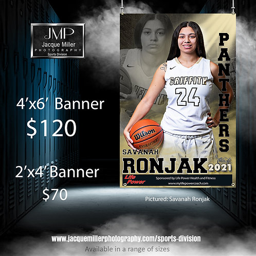 Banners: 4'x6' Individual
