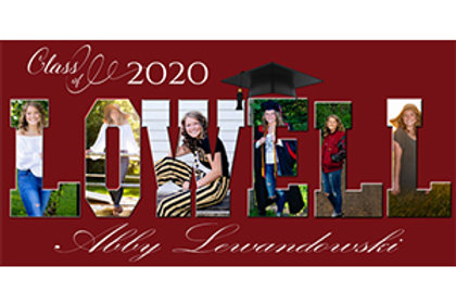 Banners: 1'x2' collage banner