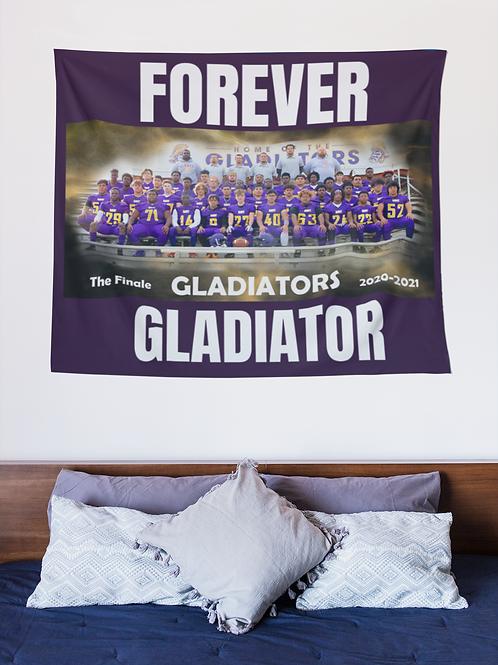 The Finale: Gavit Football Blanket/Tapestry