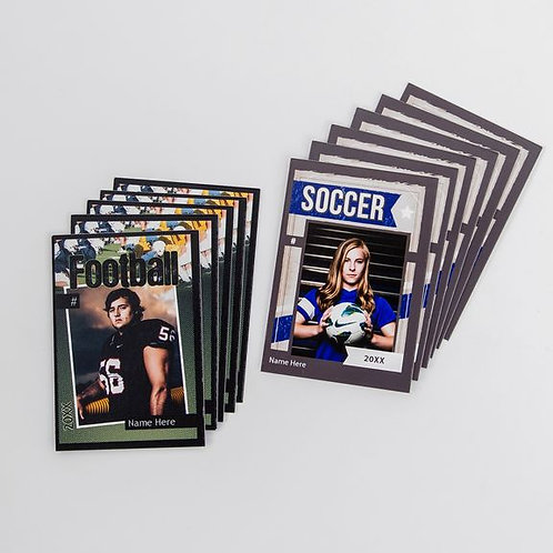 Specialty: Double-sided trading cards-set of 12