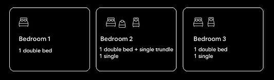 Pegs Place Bedding Arrangement