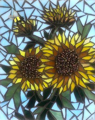 JCurrie_Sunflower & Bee.JPG