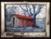 10. BLUE RIDGE TEXAS 24 x 16 unframed or