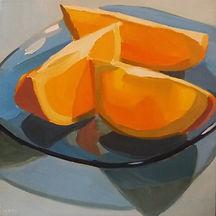 Orange Slices on Blue Glass Plate.jpg