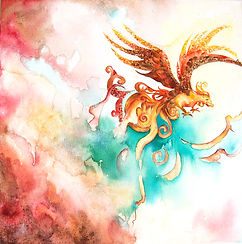 Ewing_Suedabeh_Phoenix_Watercolor on Can