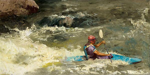 Kayaking on Rio Grande Online Display (1