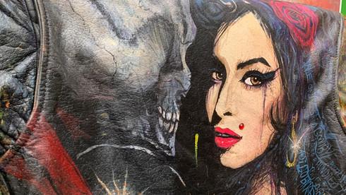 Amy Winehouse Custom Jacket