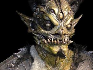 REPTILIKOR latex mask