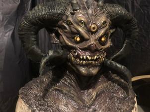 Demon Latex Mask