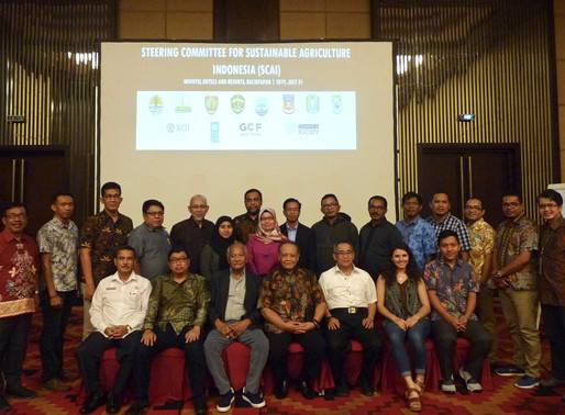 It's Official: The Steering Committee for Sustainable Agriculture Indonesia formalized in Balikpapan