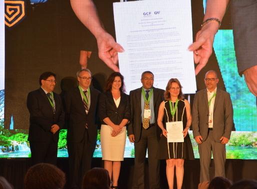 GCF Members Sign Memorandum Of Understanding With The Development Bank of Latin America (CAF)