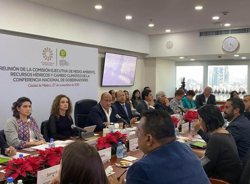 Gobernador del Estado de Jalisco Presenta La Alianza de Gobernadores Mexicanos por el clima