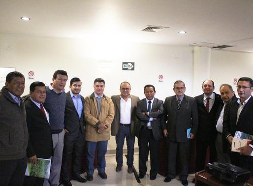 Miembros Peruanos del GCF Task Force revisan los avances hacia el desarrollo bajo en emisiones