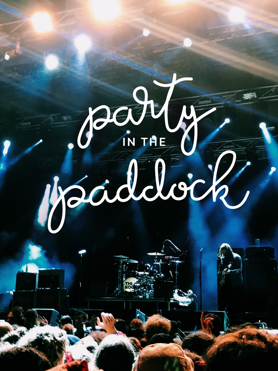 Party in the Paddock