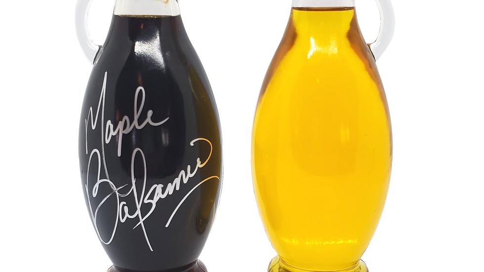 Canadian Cellars Maple Balsamic Vinegar & Special Greek Kalamata Olive Oil