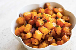 Thyme Roasted Butternut/Acorn Squash