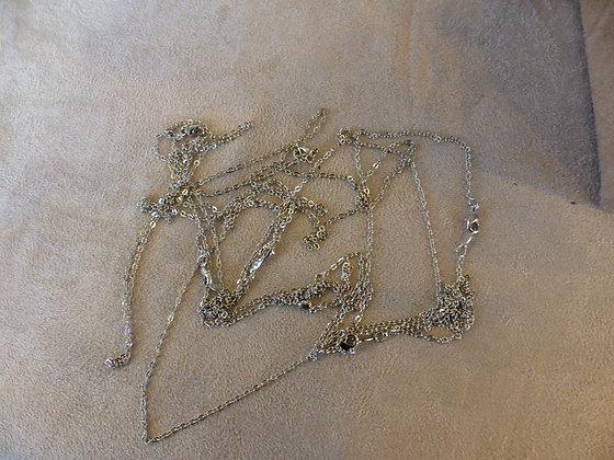 Chaines en argent 47 cm