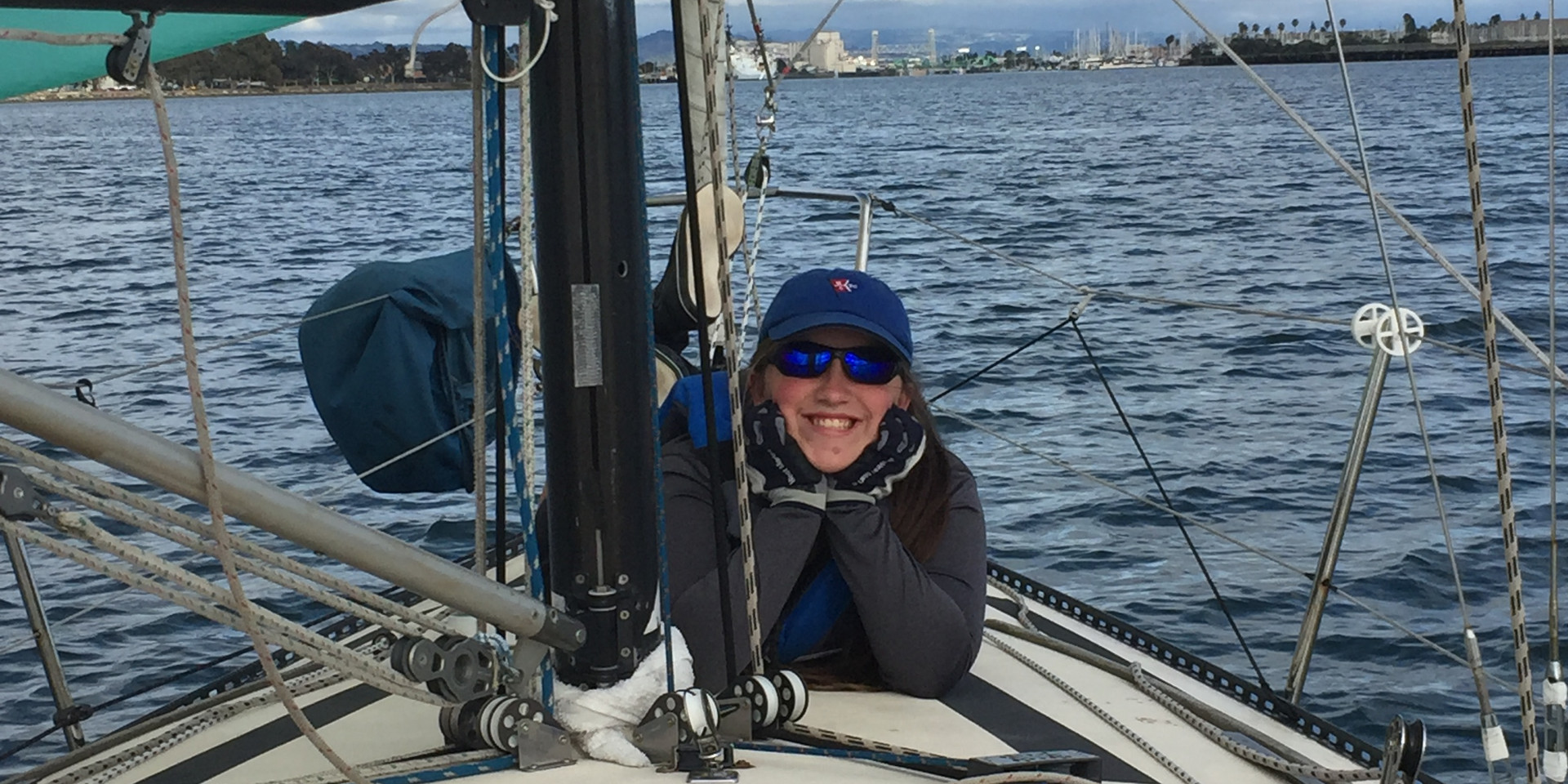 Relaxing Under Sail